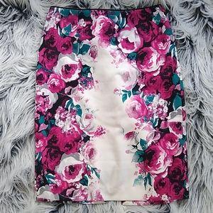 Floral skirt WHITE HOUSE BLACK MARKET